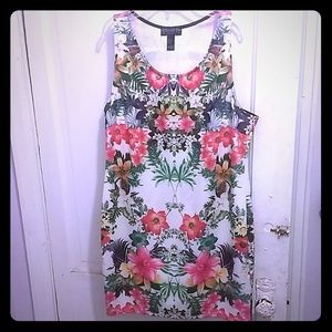 Tropical Floral Forever 21+ Dress